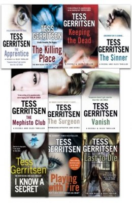 Tess Gerritsen Rizzoli & Isles Thriller 10 Books Collection