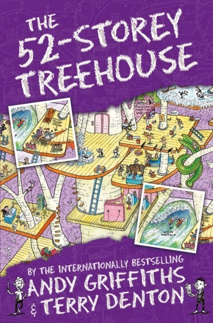 The 52-Storey Treehouse by Andy Griffiths