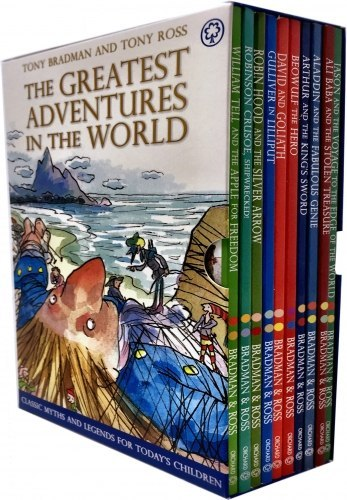 The Greatest Adventures in the World Collection 10 Books Box Set