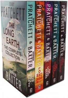 The Long Earth 5 Books Collection